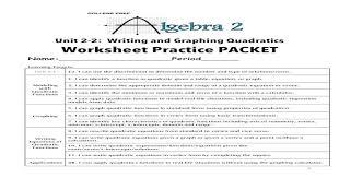 writing and graphing quadratics