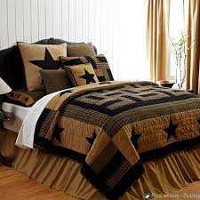 texas quilts or comforters | ... -Black-Western-Star-Twin-Queen ...