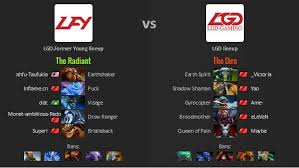 the return of chinese meta lgd gaming vs lgd forever young yao