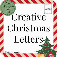 Creative Christmas Cards Chicken Babies Creative Christmas Letters
