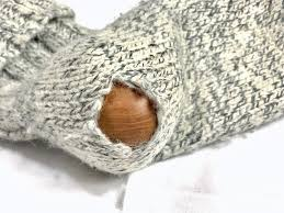 sock hole darning egg