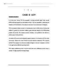 TiVo Case Analysis Marketing HBS   Television   Direc Tv