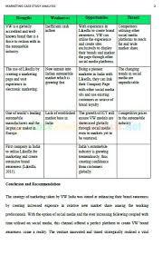marketing case study analysis example case study analysis marketing case study analysis 1 marketing case study analysis 2