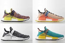 adidas pharrell. this week, adidas are gearing up to debut the all new pharrell x nmd hu trail. i
