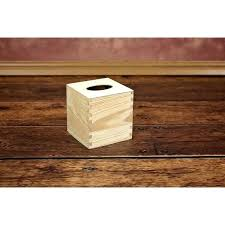 home improvement how to make a wooden tissue box holder
