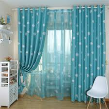 Turquoise Living Room Curtains Living Room Curtains For One Window Promotion Shop For Promotional