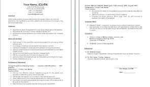 Nursing Resume Objective Statement – Hflser