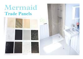 shower panels details about mermaid panels trade range square edge or tongue groove shower wall panels