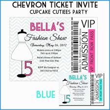Show Ticket Template Great Pictures Of Fashion Show Ticket Template Free Template Design