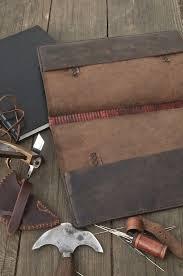 leather monk s book cover por jwleathersmith en etsy