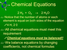 6 chemical equations