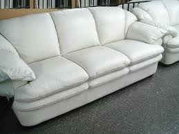 furniture simple white leather sofa color design ideas  nila homes