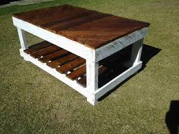 pallet furniture coffee table. Recycled Pallet Coffee Table Furniture