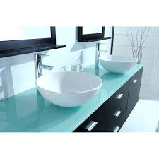glass vanity top glass vanity top vessel sink
