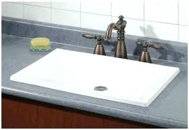 s overmount bathroom sink kohler drop in installation