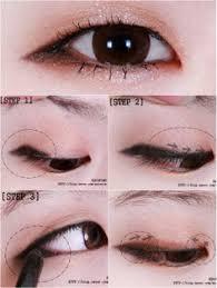 lengthening eye makeup look monoid isla newton asian makeup monolid