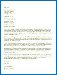 Social Work Cover Letter Example Cover Letters That Work Social Work