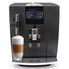 Jura J80 Matte Black One Touch Automatic Espresso Machine