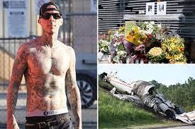In Travis Barker's plane crash, he ...
