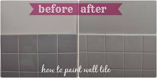 Painting Wall Tiles Kitchen Can You Paint Over Ceramic Bathroom Tiles Bathroom