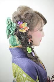 成人式髪型髪色特集人気は編み込みベース Arine アリネ