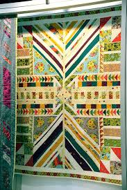 23 best Alison Glass images on Pinterest | Mini quilts, Modern ... & Our Clover Sunshine collection by Alison Glass looks stunning in this quilt  by Jamie of Quilty Adamdwight.com