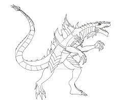 Tô màu Godzilla To Lớn - Trang Tô Màu Cho Bé