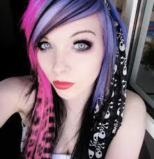 emo hair color ideas