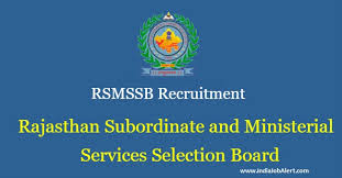 Image result for Rajasthan Recruitment 2018 For Junior Assistant