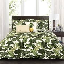 Soft Cotton Quilt Sets for Sale Online | Lush Décor |  ... & Tropical Paradise Quilt 5 Piece Set Adamdwight.com