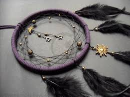 What Are Dream Catchers Made For Midnight Universe Dream Catcher Hand Made by TheInnerCat 2