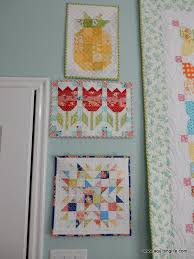 Best Tips for Mini Quilts | A Quilting Life - a quilt blog & I also have quite a few seasonal mini quilts now that I decorate with for  fall, Christmas, winter, spring, and summer. Adamdwight.com