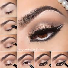 graphic arabic eye makeup tutorial