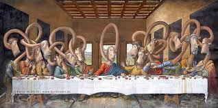 das letzte abendmahl nach leonardo da vinci martin mißfeldt la Última cena the last supper