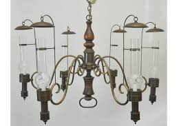 american large scale vintage commercial campaign style chandelier for