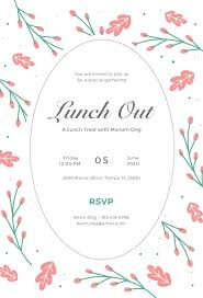 Informal Business Lunch Invitation Sample Template Jmjrlawoffice Co