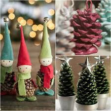 SmART Class Making TreesPine Cone Christmas Tree Craft Project