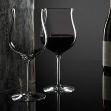 elegance burdy glass pair