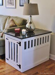 luxury dog kennel nightstand a k inside the new greenhouse crate table and pet end thi