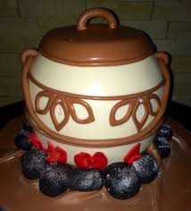 African Pot Cake African Wedding Cakes Traditional Wedding Cakes