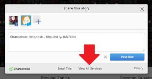 Browser Tools: How to request a new service – Shareaholic Helpdesk