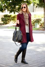 the best winter coat michael kors coat winter wool leopard scarf tall black knee high boots
