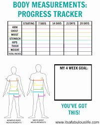 Printable Body Measurement Chart Weight Loss Printable Weight Loss Measurement Chart Fresh How To Take