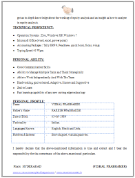 Writing an effective cv for mba students. Cv Format For Mba Finance 2 Resume Format Download Good Communication Skills Download Resume