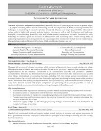 Accounts Payable Resume Magnificent Resume Objective For Accounts Payable Valid Accounts Payable Resume