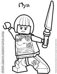 Small Picture LEGO Ninjago Coloring Page LEGO LEGO Ninjago Master Chen