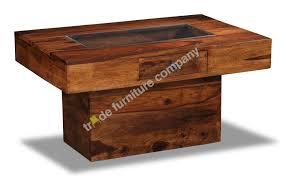 jali dark pebble coffee table j24