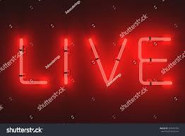 Neon Lights Live 3d Render Neon Lights Live Stock Illustration 287676794