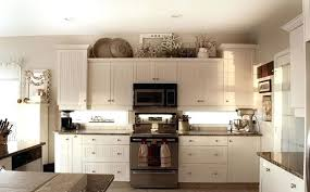 kitchen modern best above cabinet decor ideas on in from lovely cabinets naples fl