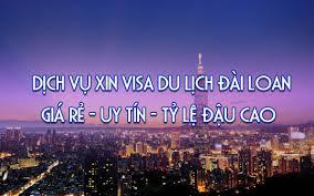 Kết quả hình ảnh cho visa du lịch đài loan